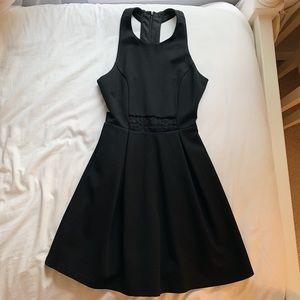 Lulu's Black Semi- Formal Mini Dress